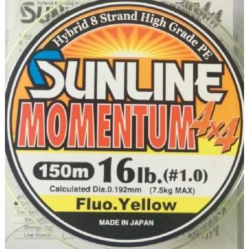 Шнур Sunline Momentum 4x4 150m  0.192mm 16lb/7.5kg