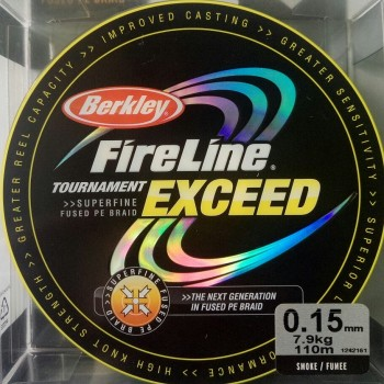 Шнур Berkley FireLine Exeed 110m  0.15mm 7.9kg