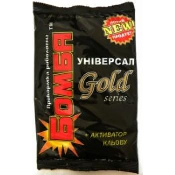 ПРИКОРМКА БОМБА Универсал GOLD, 0.9 кг